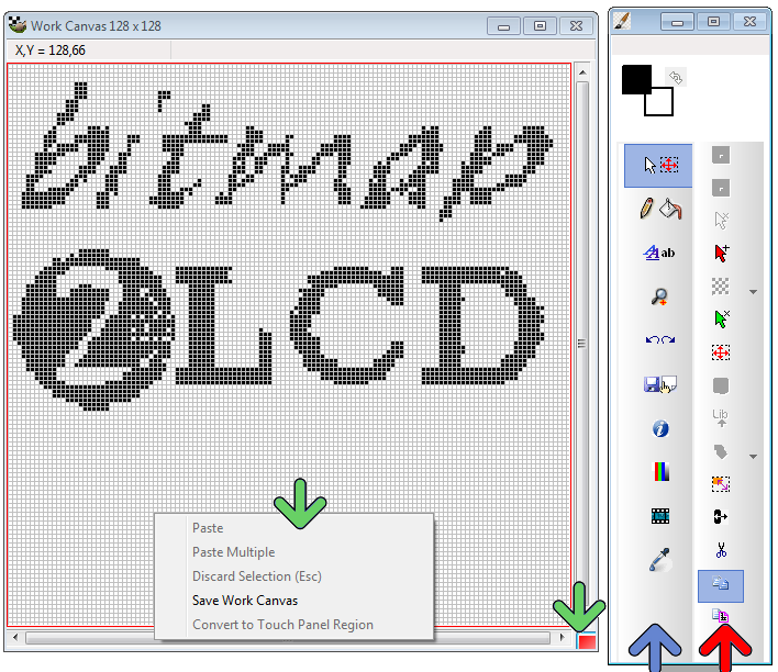 graphic LCD | Bitmap2LCD Software Tool Blog :: about GLCD displays