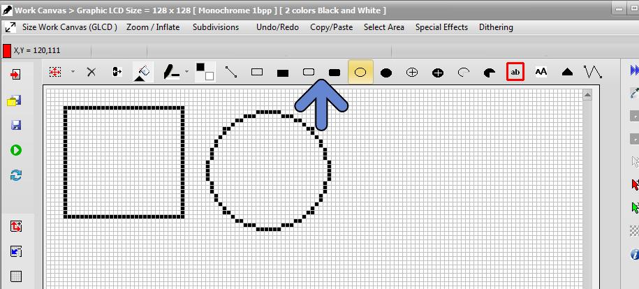 bitmap2lcd-drwaing-tools