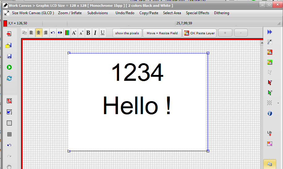 Bitmap2LCD Software Tool Blog :: about GLCD displays and Programming