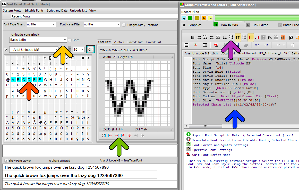 GLCD Font Editor | Bitmap2LCD Software Tool Blog :: about