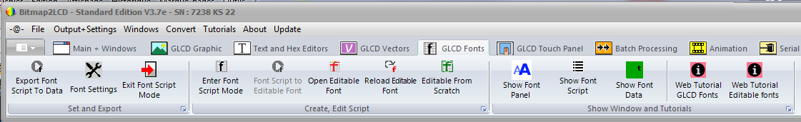 GLCD Editable Fonts | Bitmap2LCD Software Tool Blog :: about